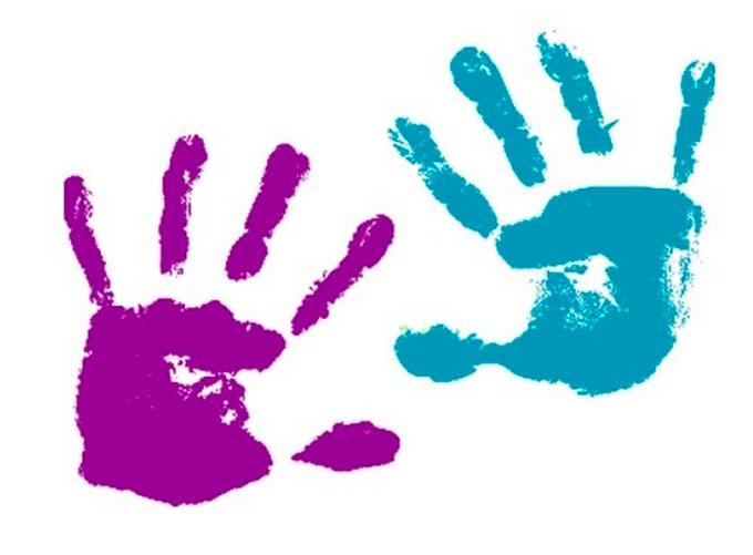 Как ребенку сделать отпечаток